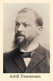 Adolf Deissmann
